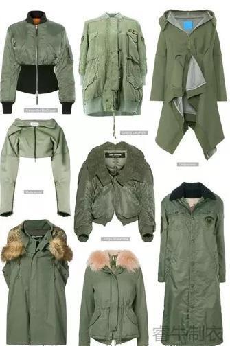 浅绿羽绒服
