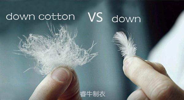 羽绒棉和羽绒