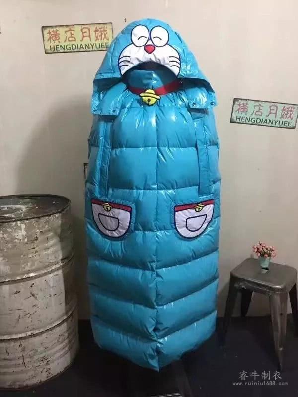 王媛定制羽绒服