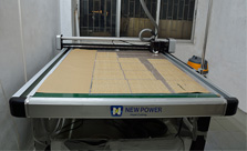 睿牛制衣厂设备展示-多功能模板机