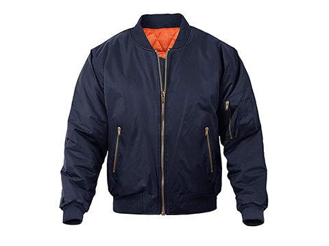夹克厂家团体定制男士飞行夹克工装夹克