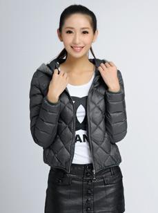 女装时尚羽绒服(轻薄百搭8422)