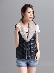 2015新款女装时尚羽绒服 R1537#