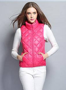 新款女装羽绒服马甲(R1501#)