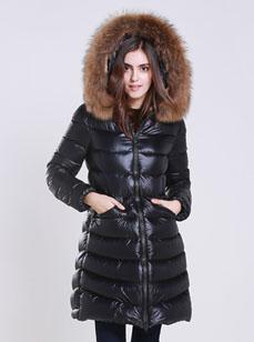 厂家定制生产中长款保暖羽绒服