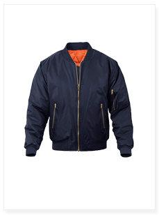 飞行夹克定制风衣工作服厂家