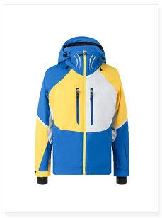 冲锋衣滑雪服厂家来图来样定制滑雪服